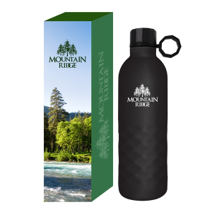 17 Oz. Arlington Sandstone Stainless Steel Bottle With Custom Box