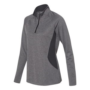 Adidas Women's Lightweight Quarter-Zip Pullover