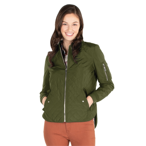 Women's Quilted Boston Flight Jacket